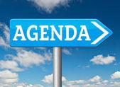 Agenda-sign